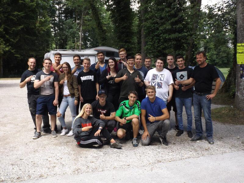 Ausflug Kletterwald