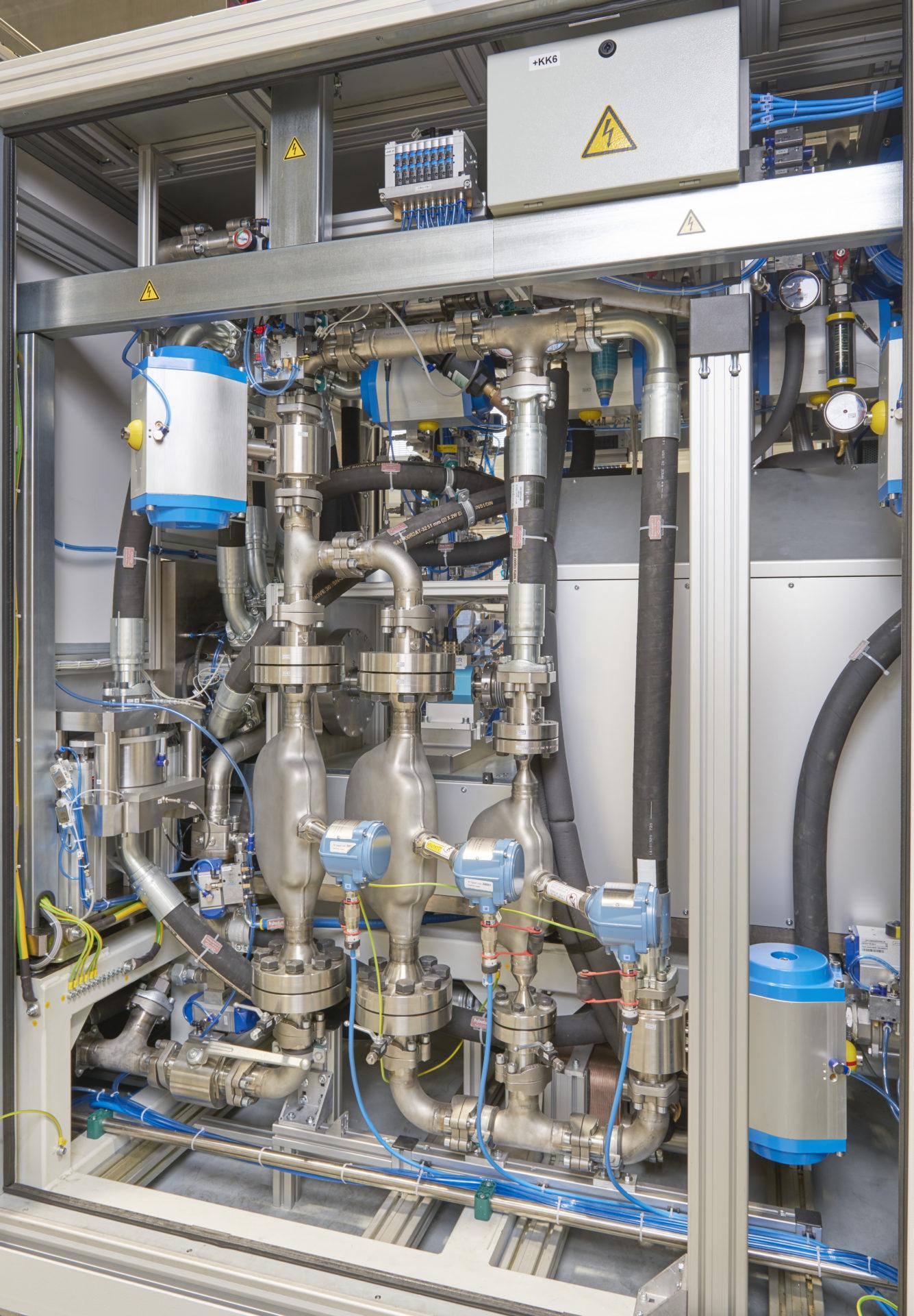 Main Fuel Pump Prüfstand Test stand