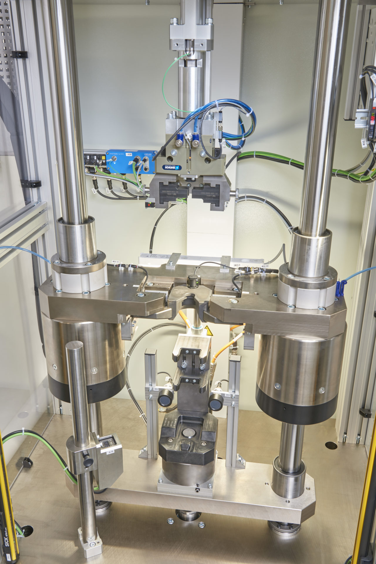 Prüfstand Stoßdämpfer test bench shock absorber
