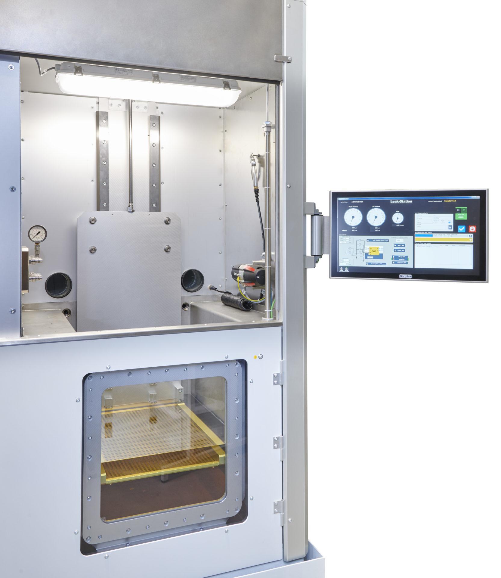 Kraftstoffkomponenten Prüfstand Fuel component test stand