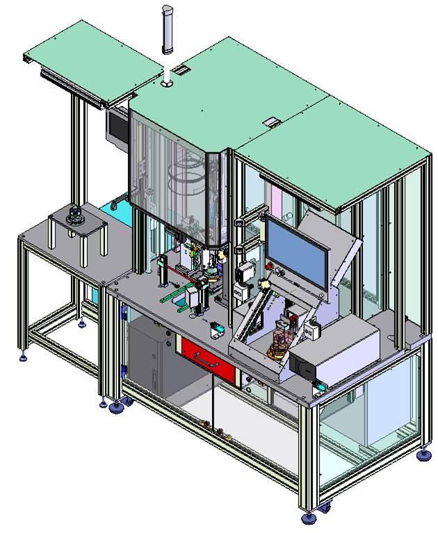 Stator Montageanlage