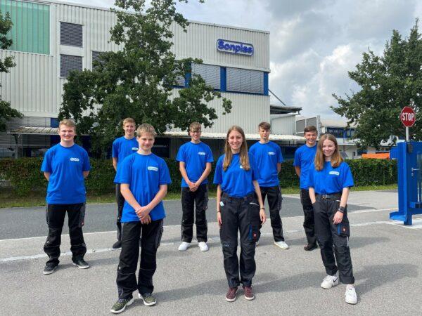 Auszubildende 2020 Sonplas GmbH
