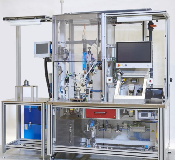 Stator Montageanlage stator assembly